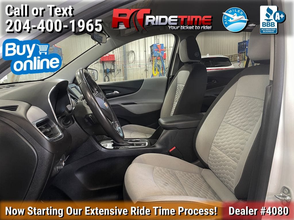 White[Iridescent Pearl Tricoat] 2019 Chevrolet Equinox LT AWD - Remote Start, Heated Seats, Bluetooth Left Front Interior Photo in Winnipeg MB