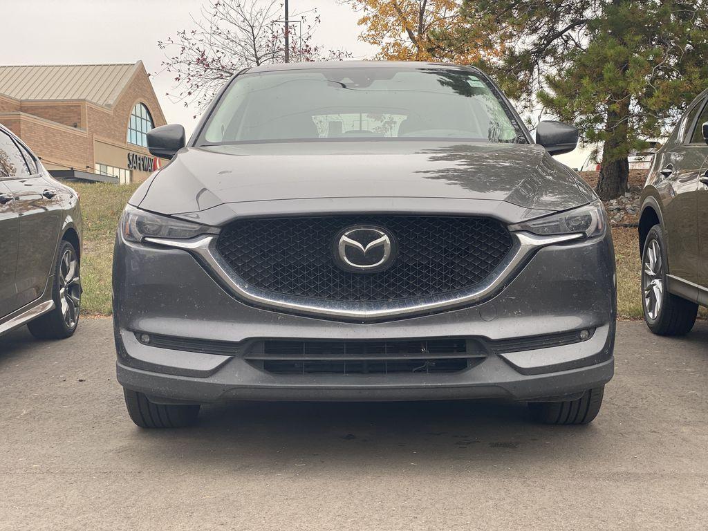 MACHINE GREY METALLIC 2017 Mazda CX-5 GT Tech Package Left Front Corner Photo in Edmonton AB
