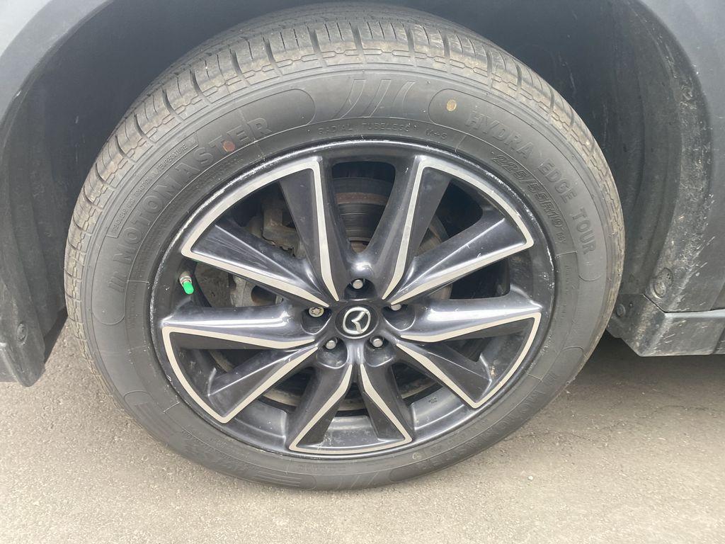 MACHINE GREY METALLIC 2017 Mazda CX-5 GT Tech Package Left Front Rim and Tire Photo in Edmonton AB
