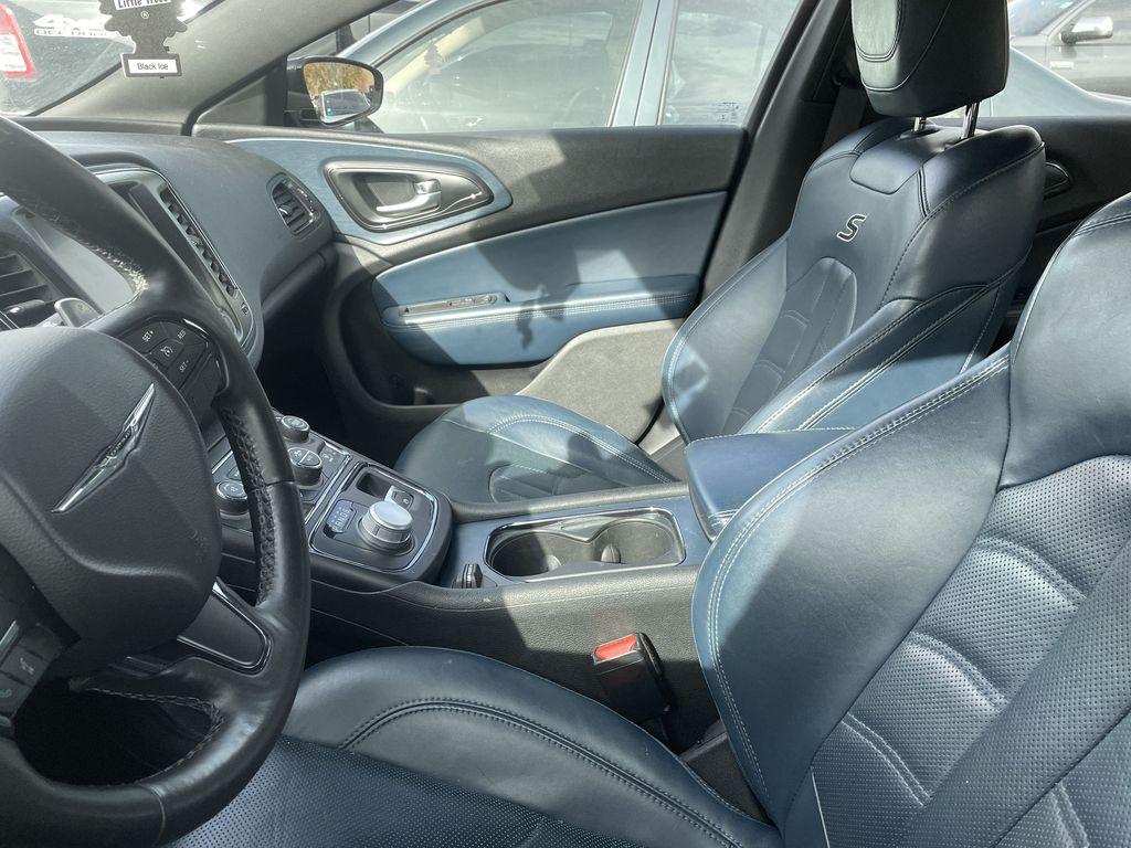 GREY 2016 Chrysler 200 S AWD  Driver's Side Door Controls Photo in Edmonton AB