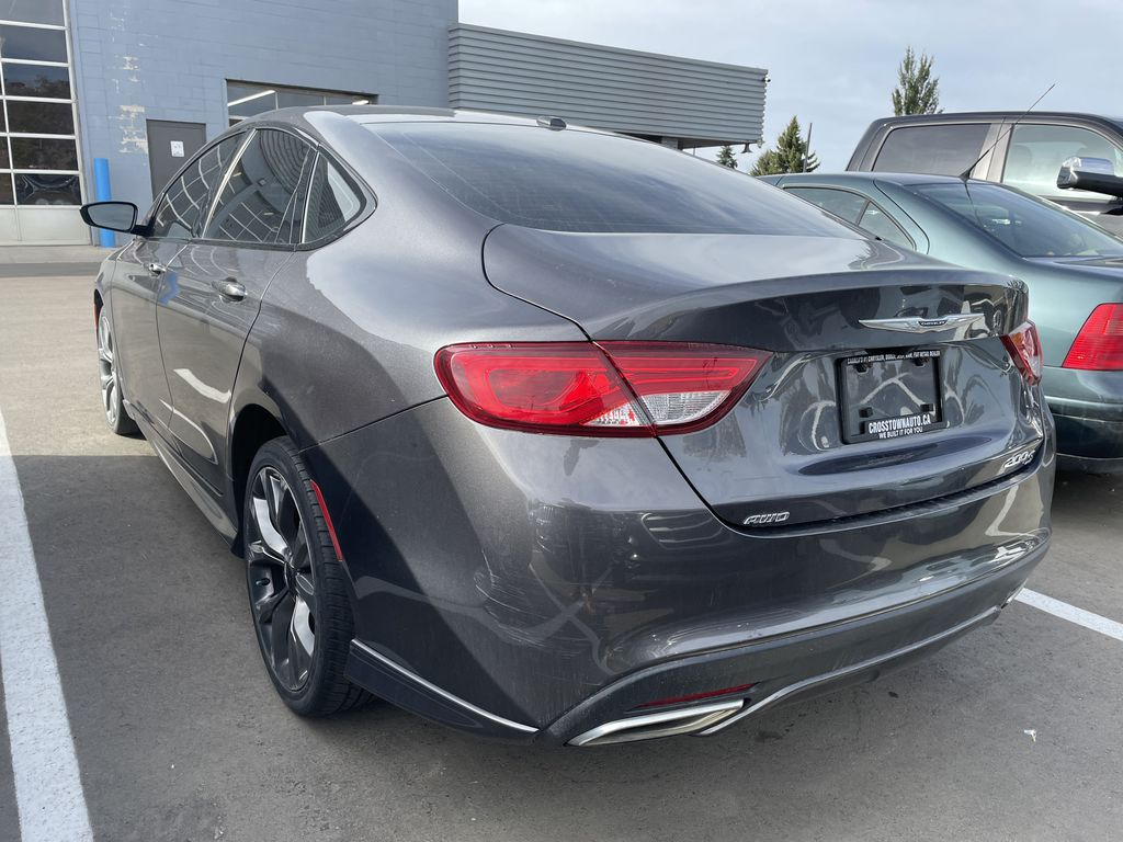GREY 2016 Chrysler 200 S AWD Left Front Rim and Tire Photo in Edmonton AB