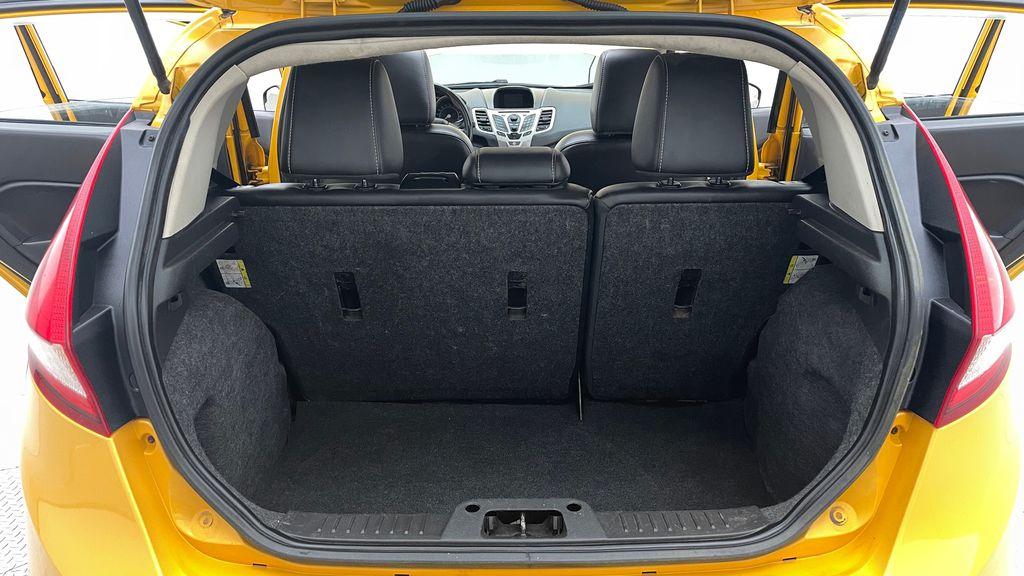 Yellow[Yellow Blaze Metallic Tri-Coat] 2011 Ford Fiesta SES - Automatic, Leather, LOW PRICE, Sunroof Trunk / Cargo Area Photo in Winnipeg MB
