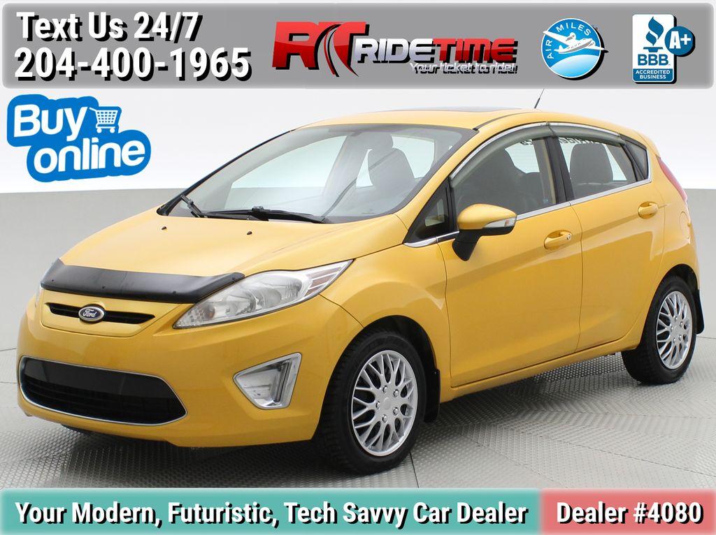 Yellow[Yellow Blaze Metallic Tri-Coat] 2011 Ford Fiesta SES - Automatic, Leather, LOW PRICE, Sunroof