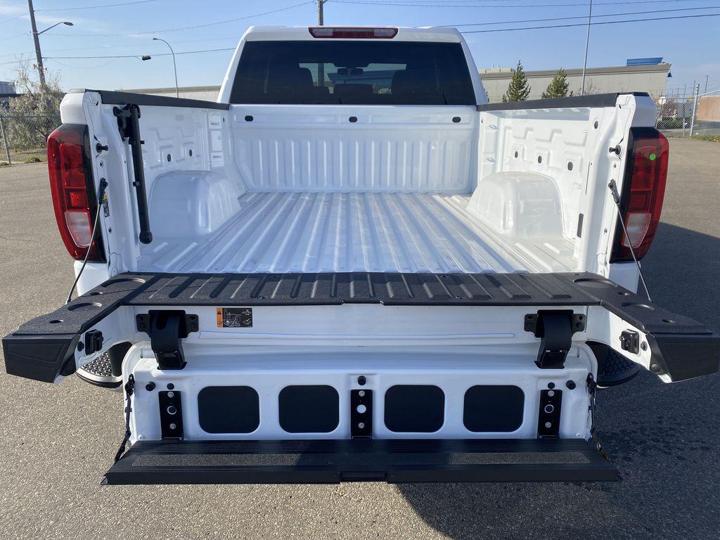 White[Summit White] 2021 GMC Sierra 1500 Trunk / Cargo Area Photo in Edmonton AB