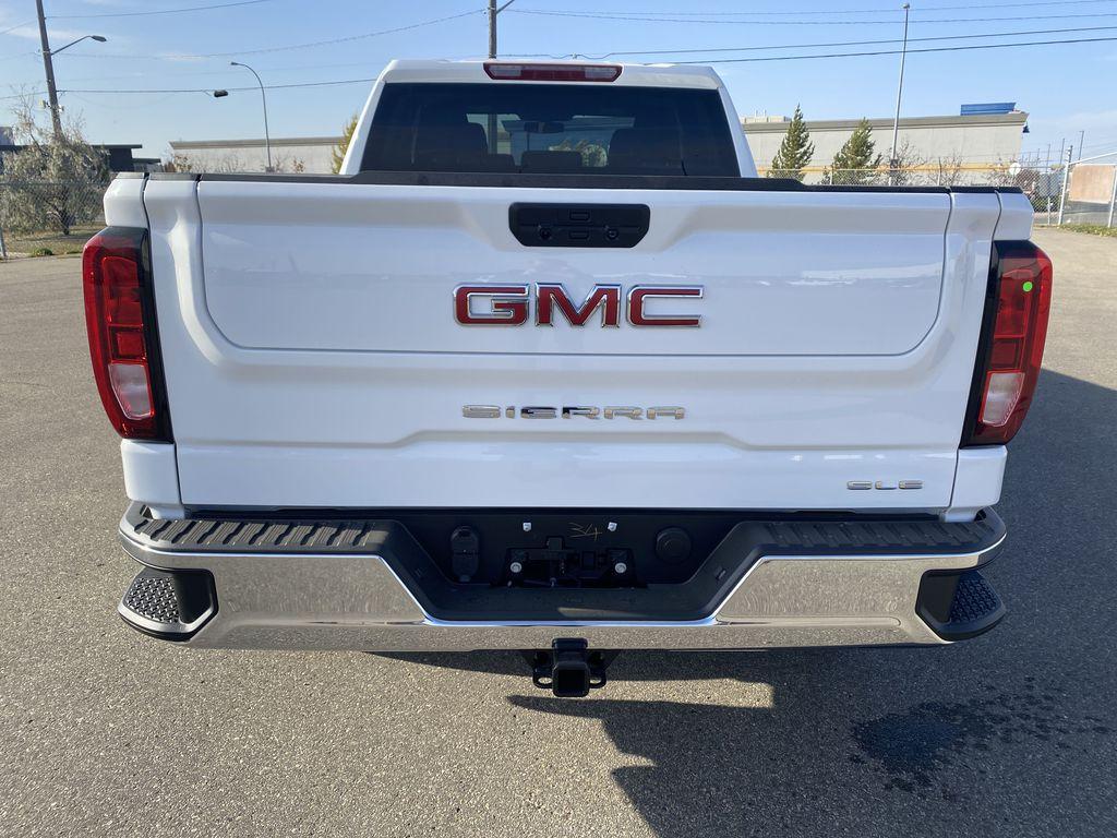 White[Summit White] 2021 GMC Sierra 1500 Rear of Vehicle Photo in Edmonton AB