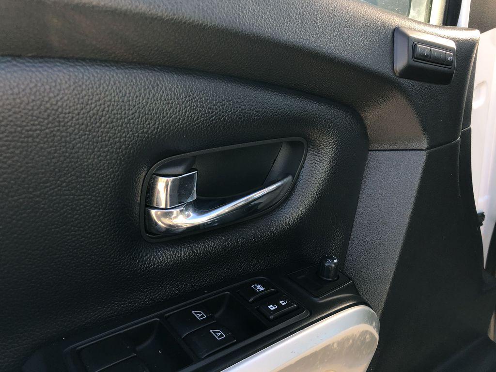 White[Glacier White] 2018 Nissan Titan XD  Driver's Side Door Controls Photo in Edmonton AB