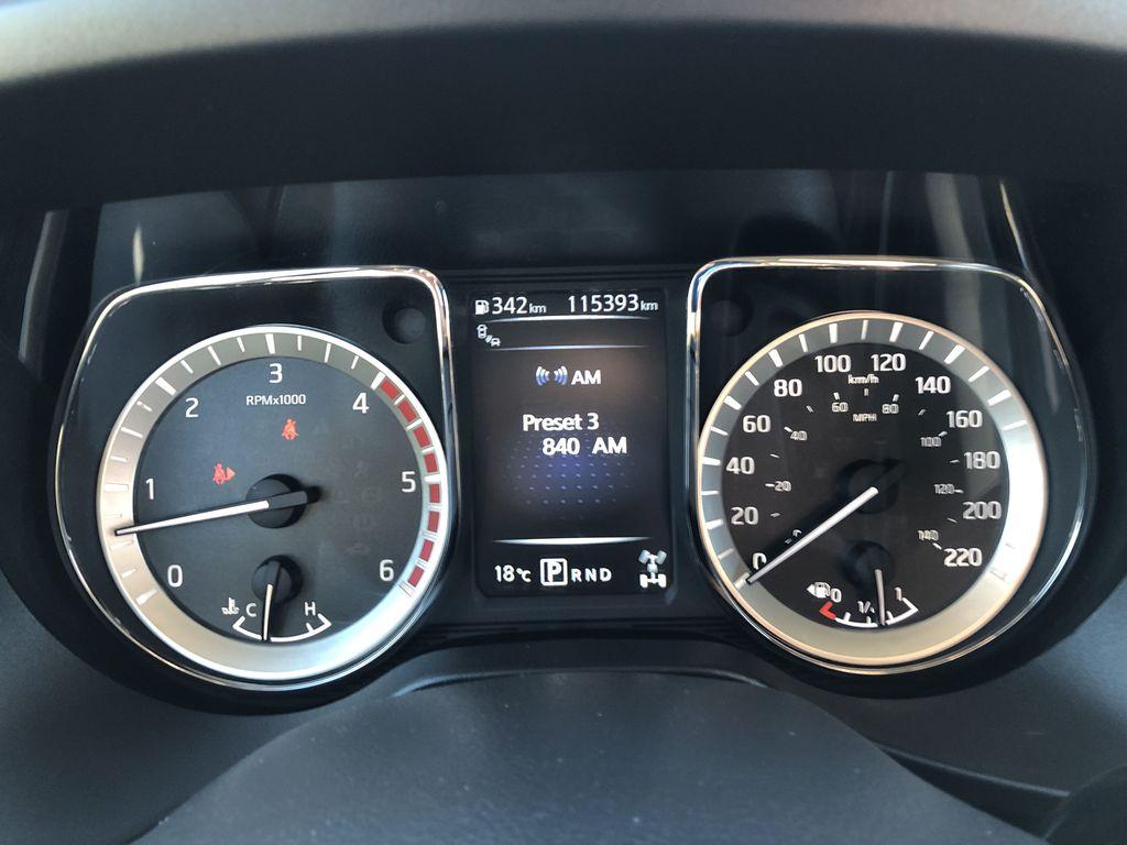 White[Glacier White] 2018 Nissan Titan XD Odometer Photo in Edmonton AB