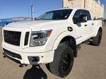 White[Glacier White] 2018 Nissan Titan XD Left Front Corner Photo in Edmonton AB