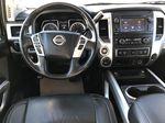White[Glacier White] 2018 Nissan Titan XD Strng Wheel/Dash Photo: Frm Rear in Edmonton AB