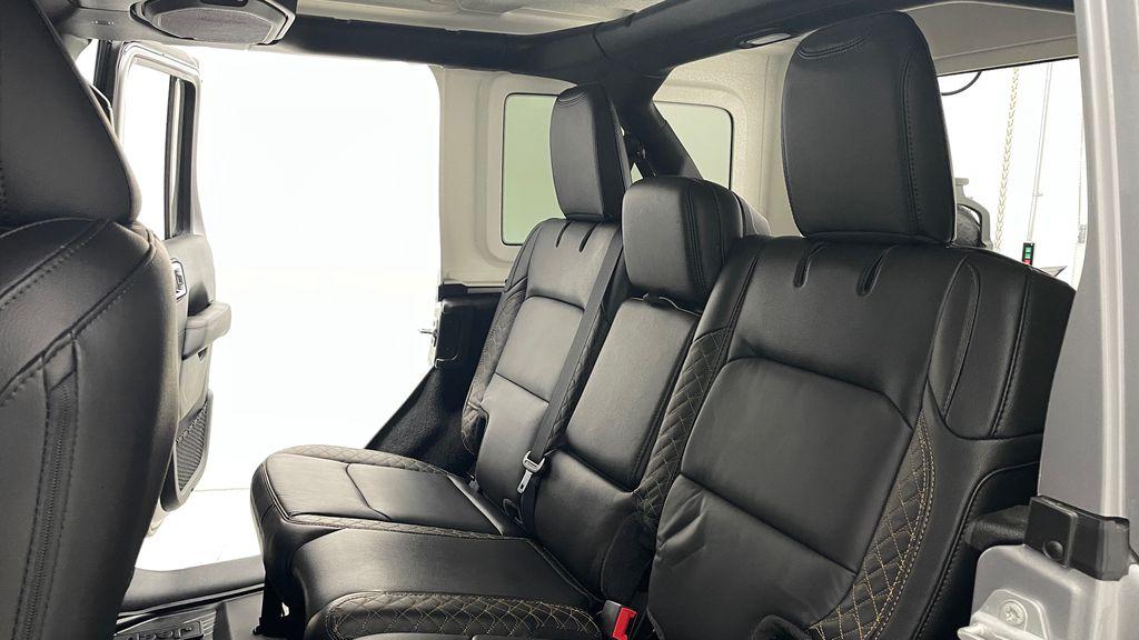 Silver[Billet Silver Metallic] 2021 Jeep Wrangler Unlimited High Altitude - RARE Gas/Electric Hybrid Left Side Rear Seat  Photo in Winnipeg MB