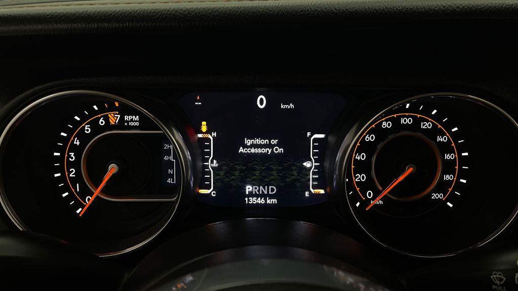 Silver[Billet Silver Metallic] 2021 Jeep Wrangler Unlimited High Altitude - RARE Gas/Electric Hybrid Odometer Photo in Winnipeg MB