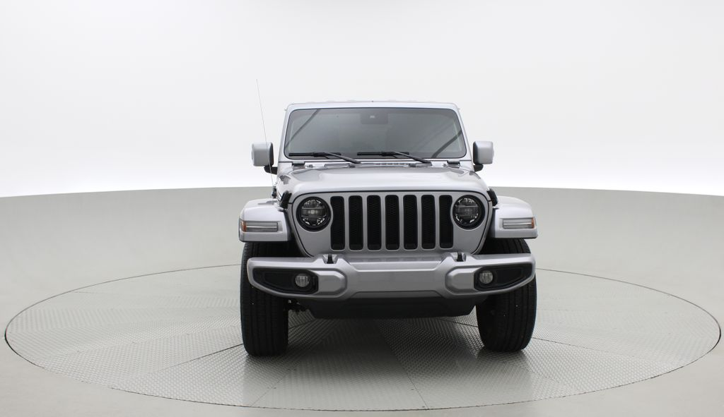 Silver[Billet Silver Metallic] 2021 Jeep Wrangler Unlimited High Altitude - RARE Gas/Electric Hybrid Front Vehicle Photo in Winnipeg MB