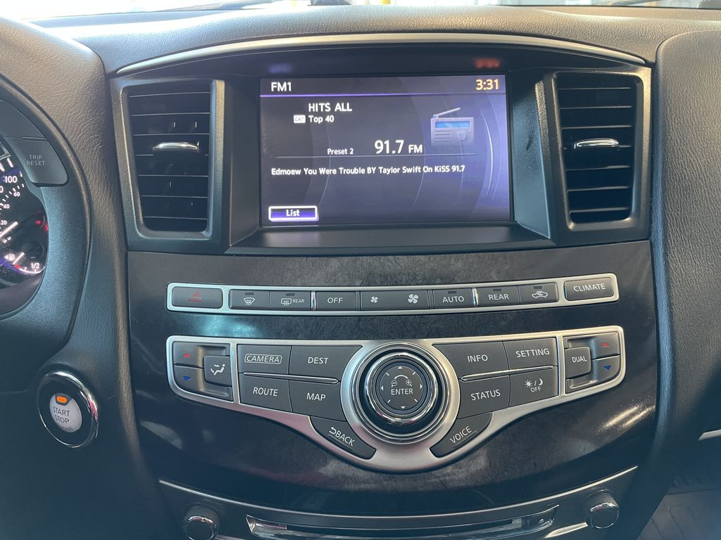 Gray 2015 INFINITI QX60 4DR AWD Left Front Head Light / Bumper and Grill in Edmonton AB