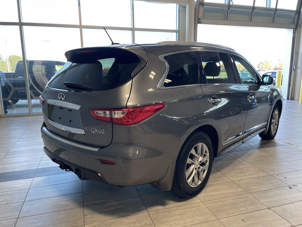 Gray 2015 INFINITI QX60 4DR AWD Rear of Vehicle Photo in Edmonton AB
