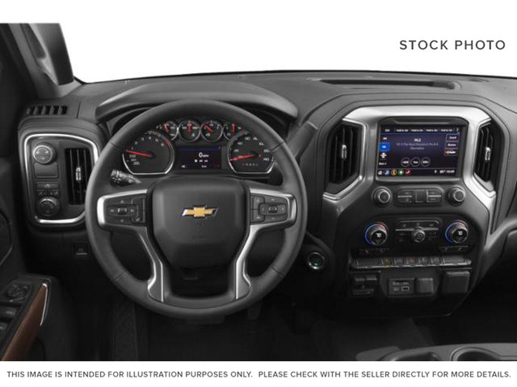 Black[Black] 2020 Chevrolet Silverado 1500 Steering Wheel and Dash Photo in Fort Macleod AB