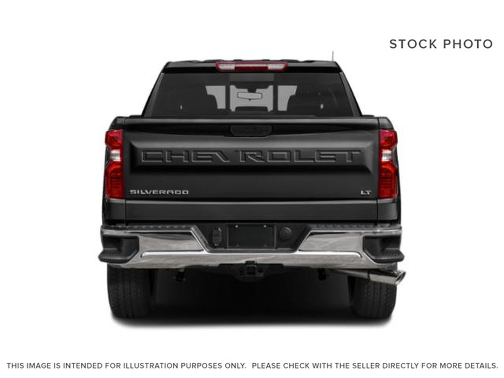 Black[Black] 2020 Chevrolet Silverado 1500 Rear of Vehicle Photo in Fort Macleod AB
