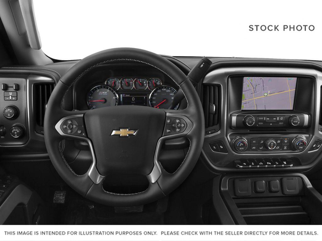 Black[Black] 2015 Chevrolet Silverado 2500HD Steering Wheel and Dash Photo in Fort Macleod AB