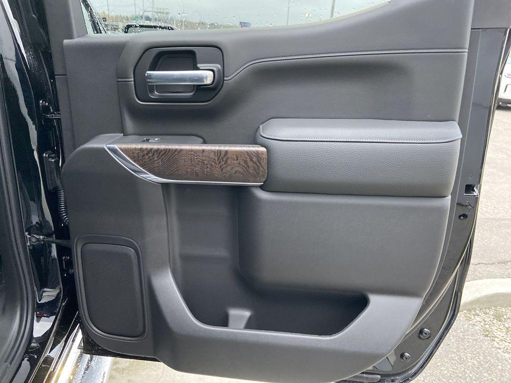 Black[Onyx Black] 2021 GMC Sierra 1500 Denali Right Rear Interior Door Panel Photo in Calgary AB