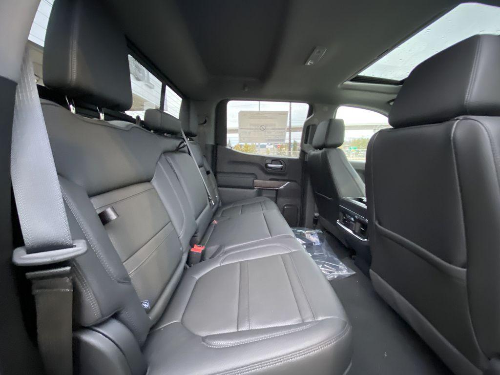Black[Onyx Black] 2021 GMC Sierra 1500 Denali Right Side Rear Seat  Photo in Calgary AB