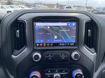 Black[Onyx Black] 2021 GMC Sierra 1500 Denali Navigation Screen Closeup Photo in Calgary AB