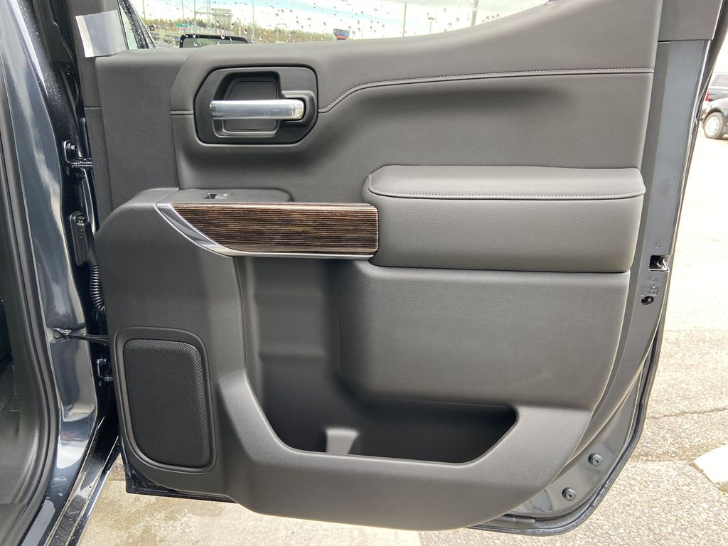 Gray[Dark Sky Metallic] 2021 GMC Sierra 1500 Elevation Right Rear Interior Door Panel Photo in Calgary AB