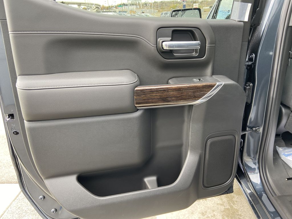 Gray[Dark Sky Metallic] 2021 GMC Sierra 1500 Elevation Left Rear Interior Door Panel Photo in Calgary AB