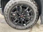 Gray[Dark Sky Metallic] 2021 GMC Sierra 1500 Elevation Left Front Rim and Tire Photo in Calgary AB