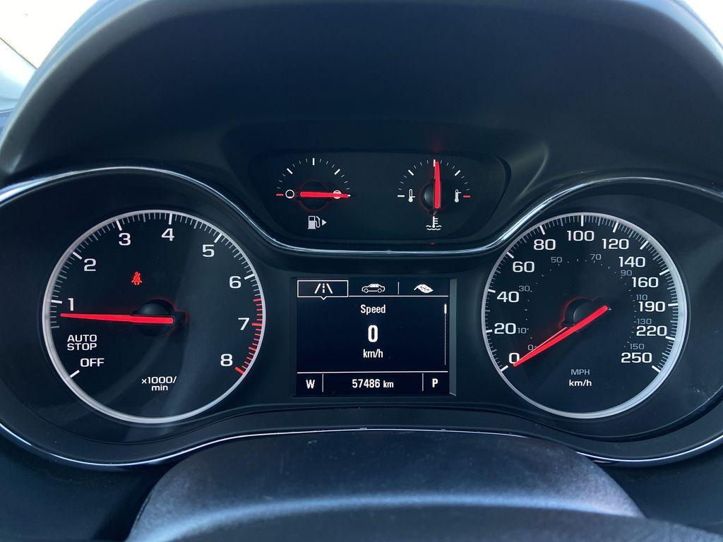 Blue[Kinetic Blue Metallic] 2019 Chevrolet Cruze LT Odometer Photo in Calgary AB