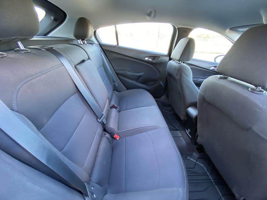 Blue[Kinetic Blue Metallic] 2019 Chevrolet Cruze LT Passenger Rear Door Controls Photo in Calgary AB
