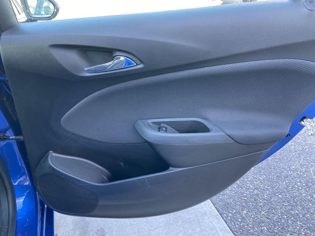 Blue[Kinetic Blue Metallic] 2019 Chevrolet Cruze LT Right Rear Interior Door Panel Photo in Calgary AB