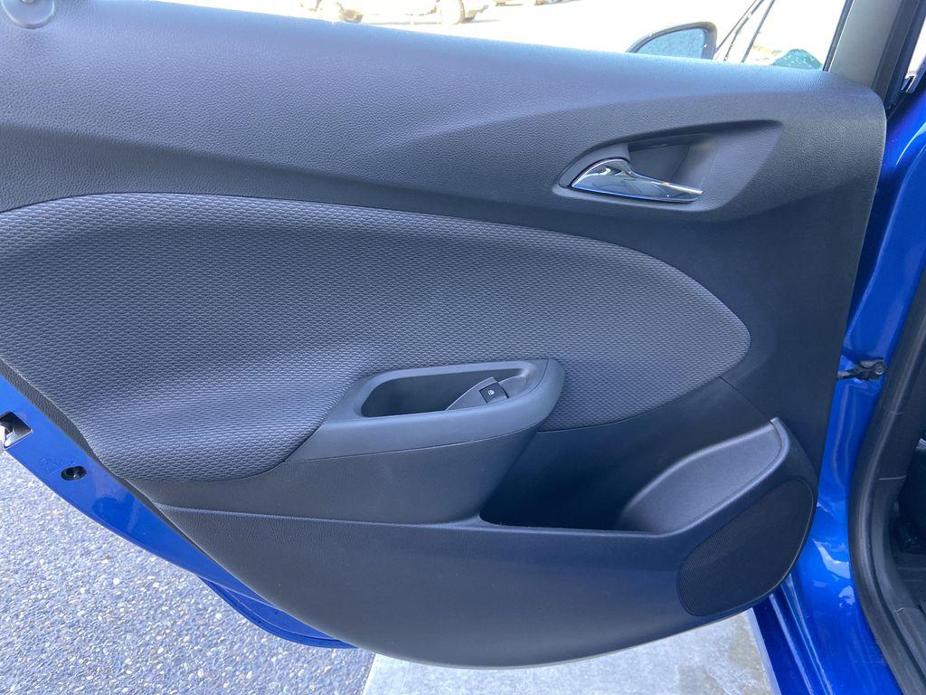 Blue[Kinetic Blue Metallic] 2019 Chevrolet Cruze LT Left Rear Interior Door Panel Photo in Calgary AB
