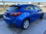 Blue[Kinetic Blue Metallic] 2019 Chevrolet Cruze LT Right Rear Corner Photo in Calgary AB