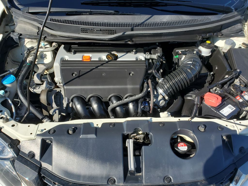 White[Taffeta White] 2013 Honda Civic SI Sedan Engine Compartment Photo in Kelowna BC