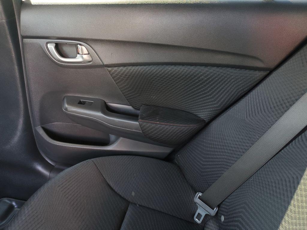White[Taffeta White] 2013 Honda Civic SI Sedan Right Rear Interior Door Panel Photo in Kelowna BC