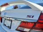 White[Taffeta White] 2013 Honda Civic SI Sedan Trim Specific Photo in Kelowna BC