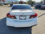 White[Taffeta White] 2013 Honda Civic SI Sedan Rear of Vehicle Photo in Kelowna BC