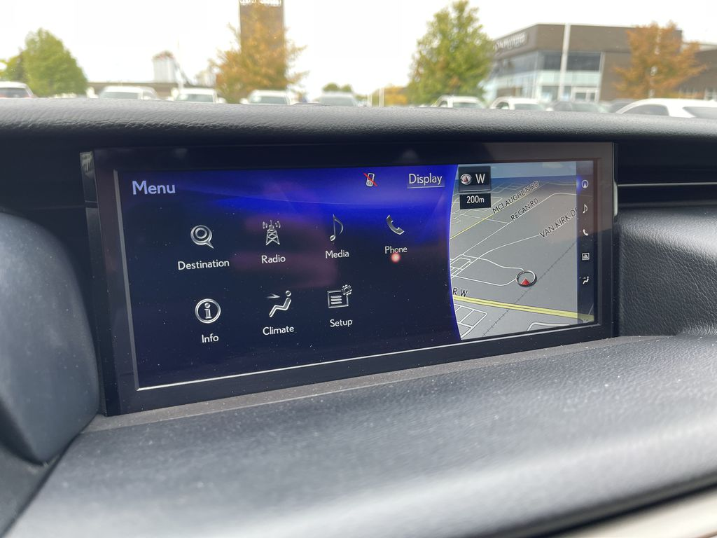 Black 2018 Lexus IS Right Rear Corner Photo in Brampton ON