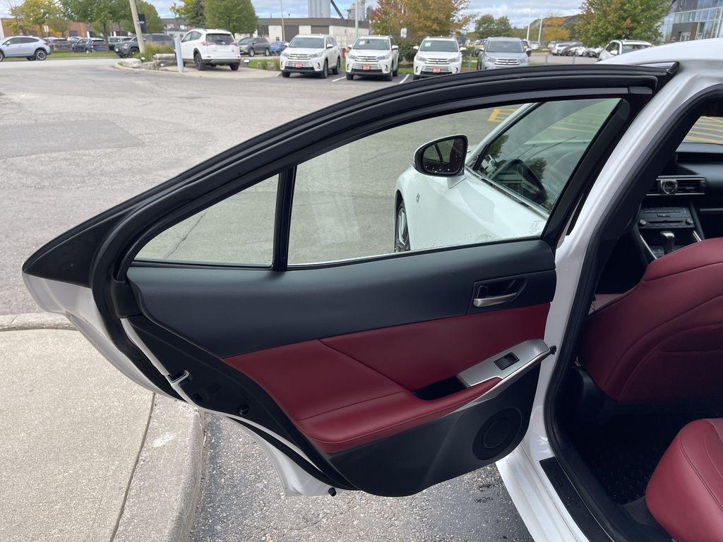 Black 2018 Lexus IS Left Rear Corner Photo in Brampton ON