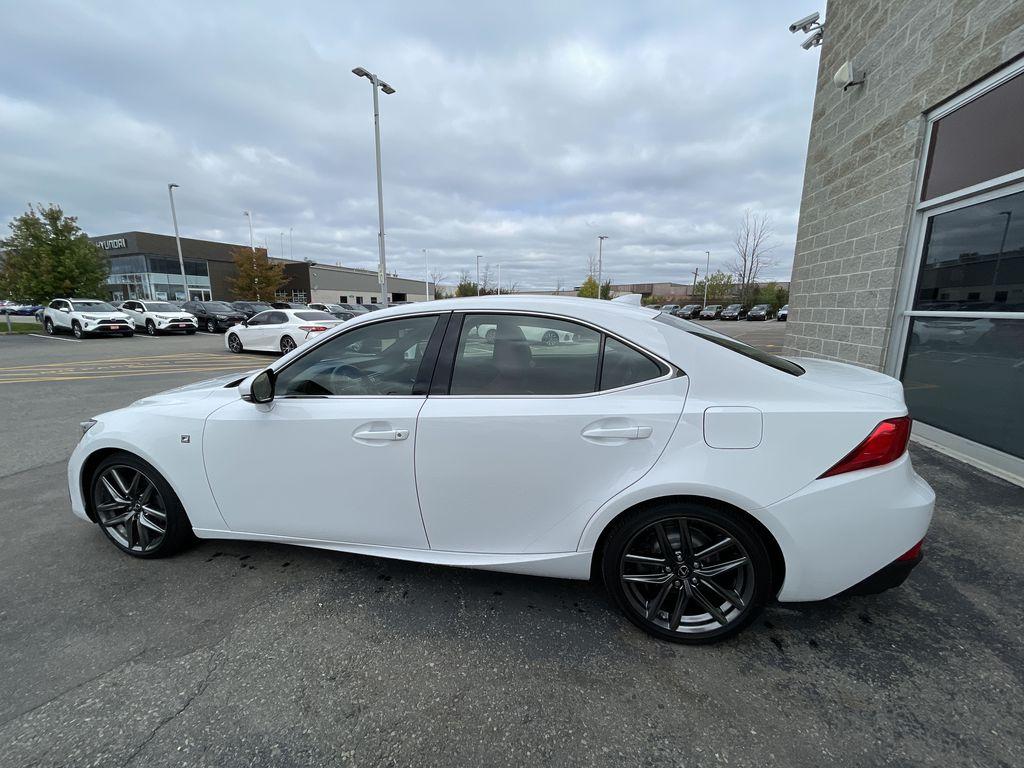 Black 2018 Lexus IS Left Front Rim and Tire Photo in Brampton ON