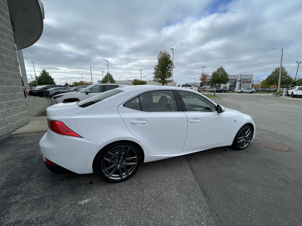 Black 2018 Lexus IS Front Vehicle Photo in Brampton ON