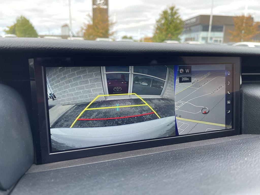 Black 2018 Lexus IS Right Rear Interior Door Panel Photo in Brampton ON