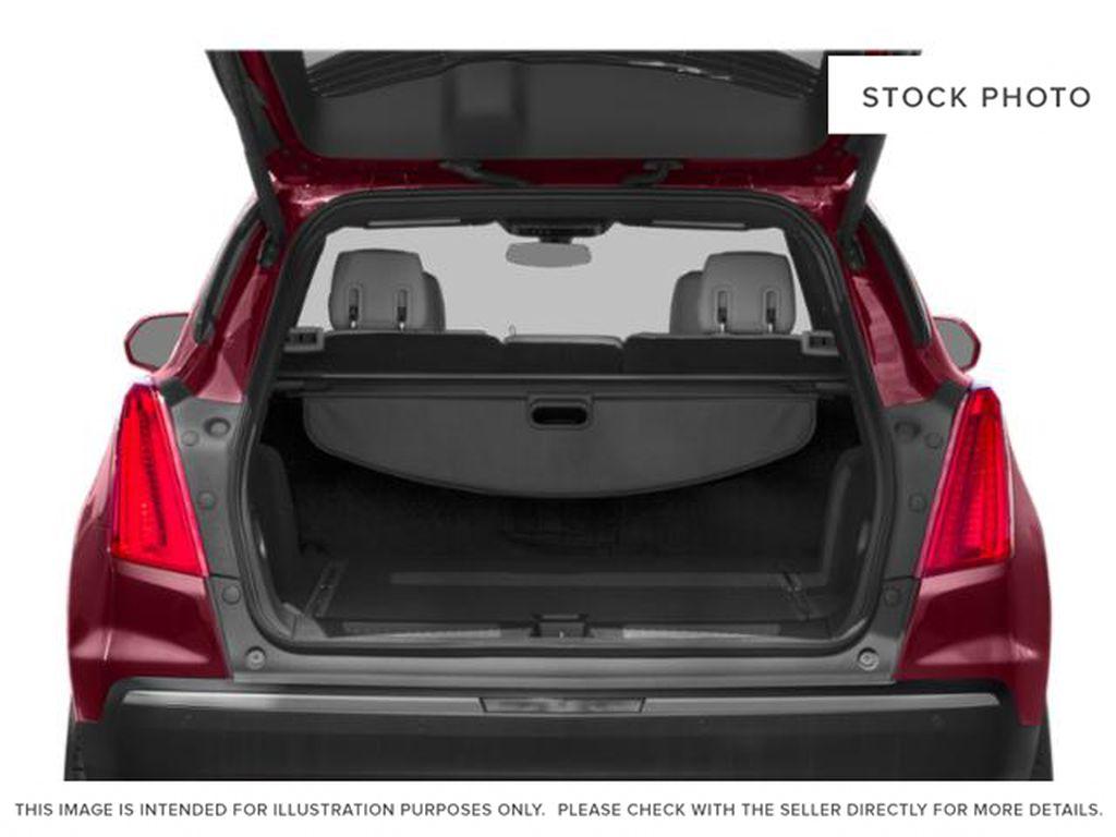 Black[Stellar Black Metallic] 2019 Cadillac XT5 Trunk / Cargo Area Photo in Edmonton AB