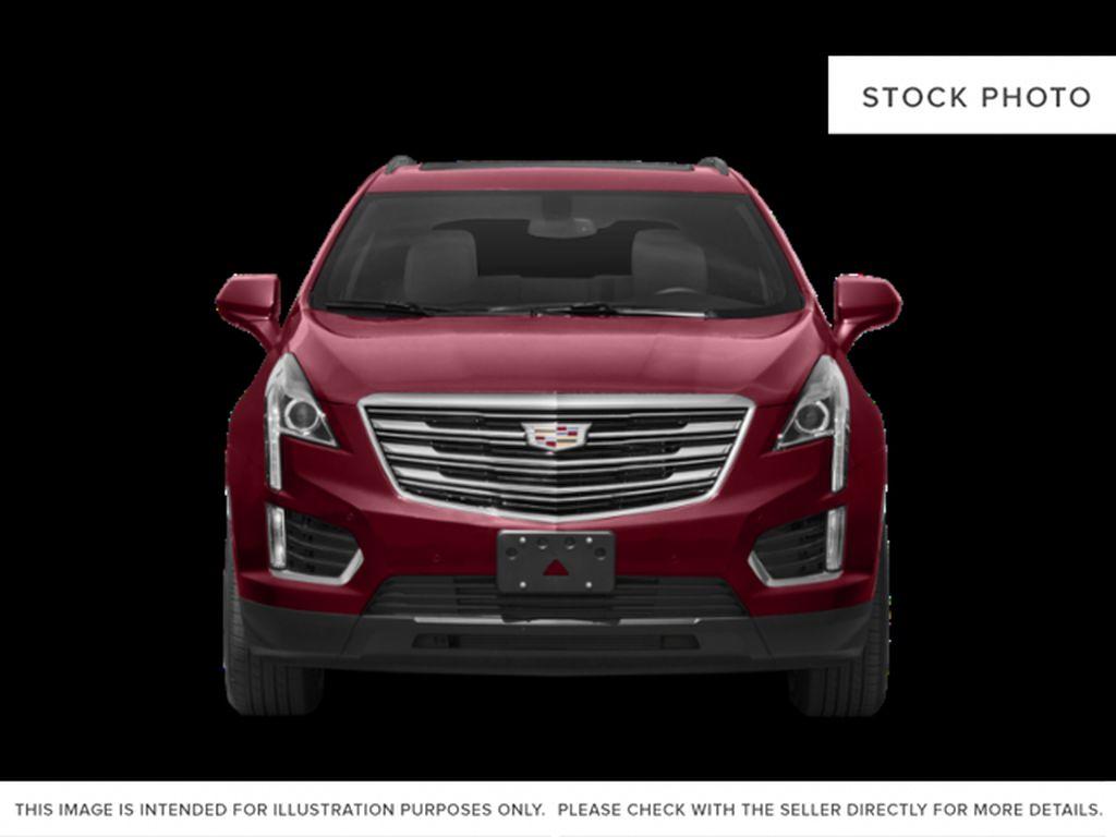 Black[Stellar Black Metallic] 2019 Cadillac XT5 Front Vehicle Photo in Edmonton AB