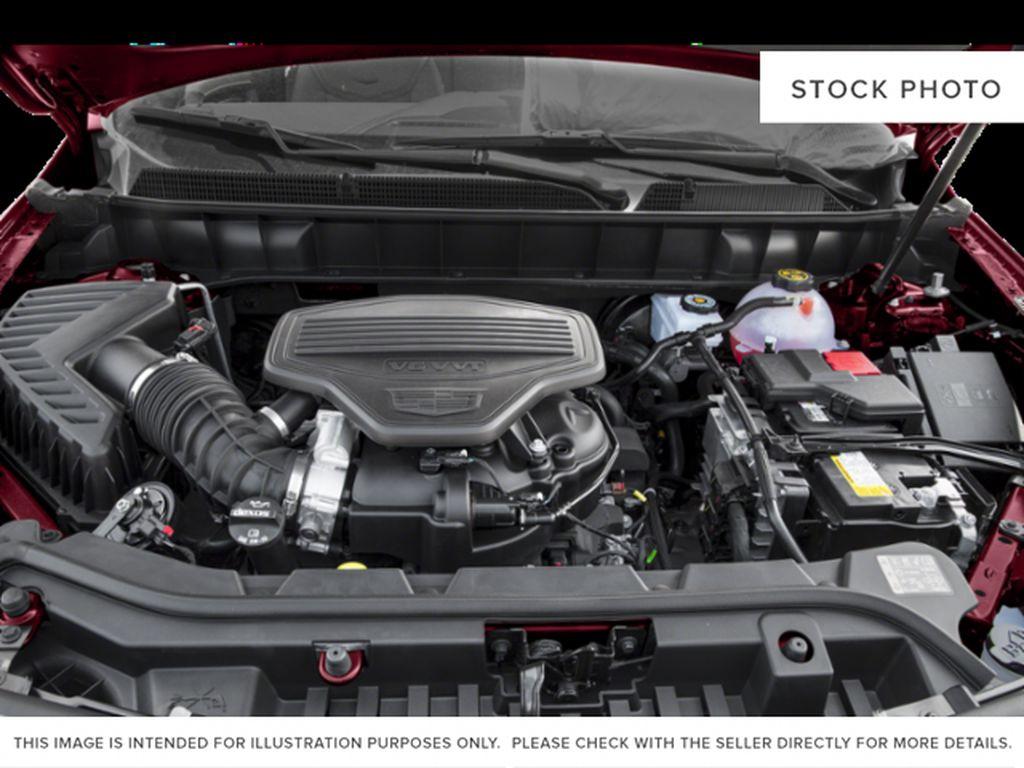Black[Stellar Black Metallic] 2019 Cadillac XT5 Engine Compartment Photo in Edmonton AB