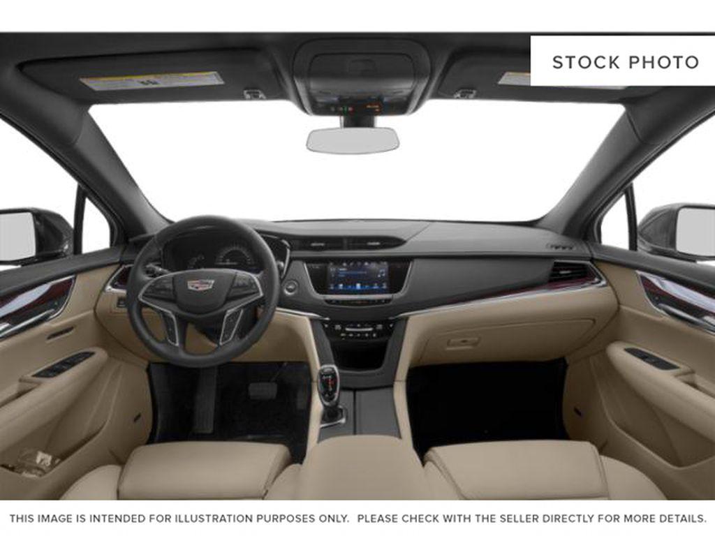 Black[Stellar Black Metallic] 2019 Cadillac XT5 Central Dash Options Photo in Edmonton AB