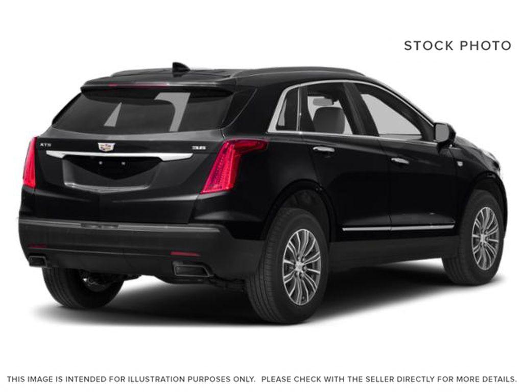 Black[Stellar Black Metallic] 2019 Cadillac XT5 Right Rear Corner Photo in Edmonton AB