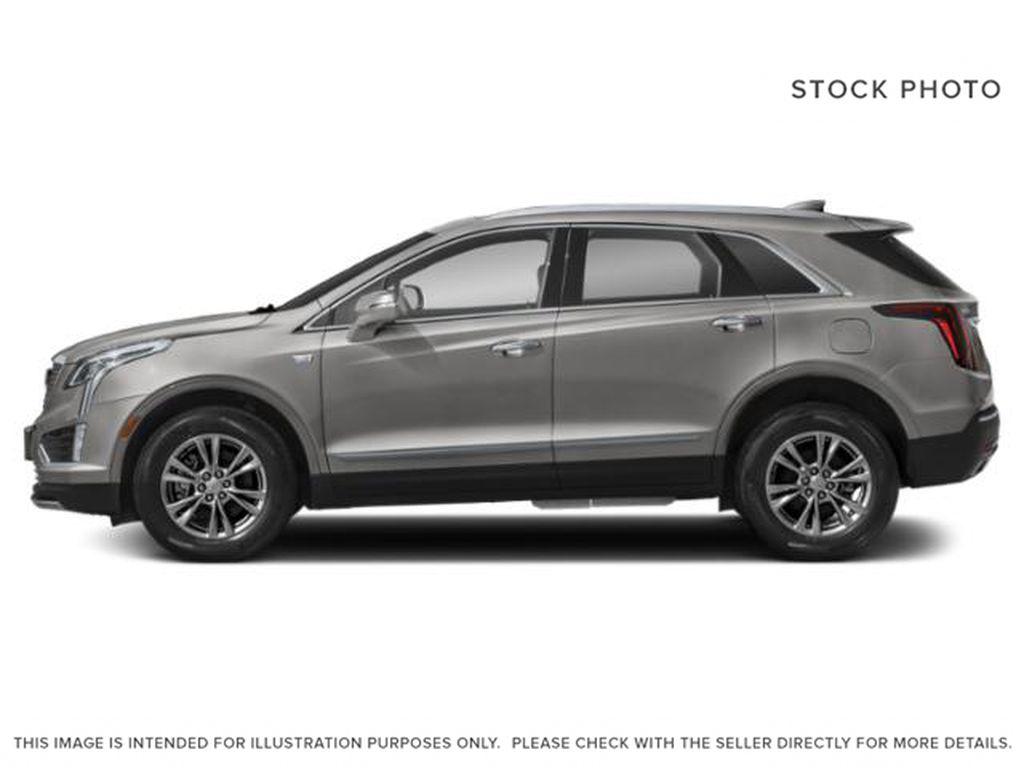 Black[Stellar Black Metallic] 2022 Cadillac XT5 Left Side Photo in Edmonton AB