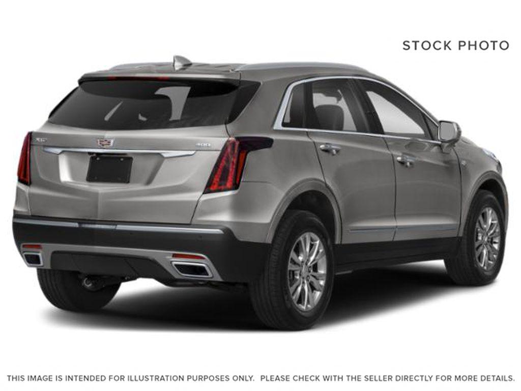 Black[Stellar Black Metallic] 2022 Cadillac XT5 Right Rear Corner Photo in Edmonton AB