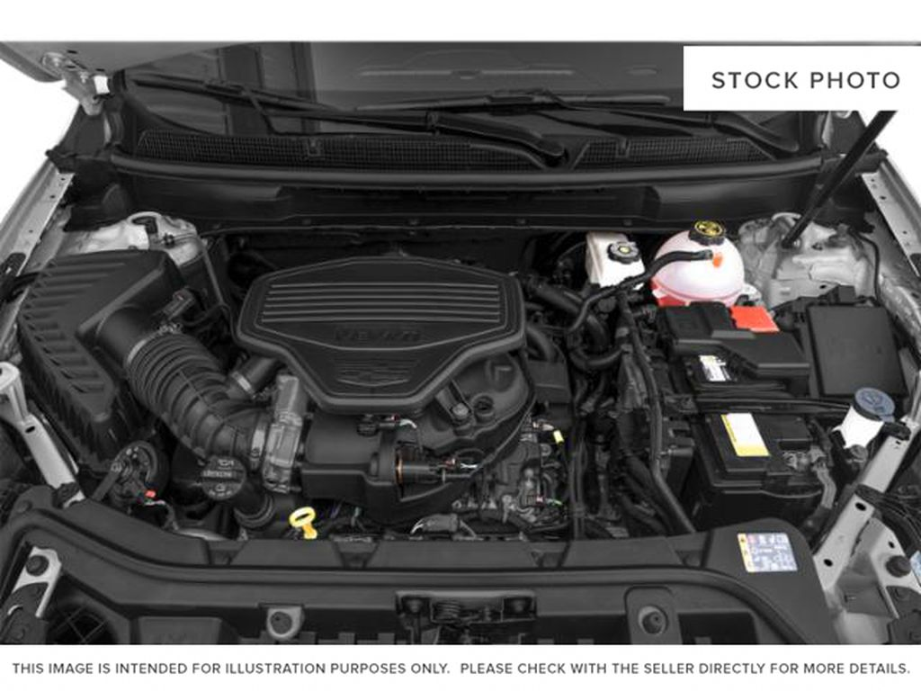 Black[Stellar Black Metallic] 2022 Cadillac XT5 Engine Compartment Photo in Edmonton AB