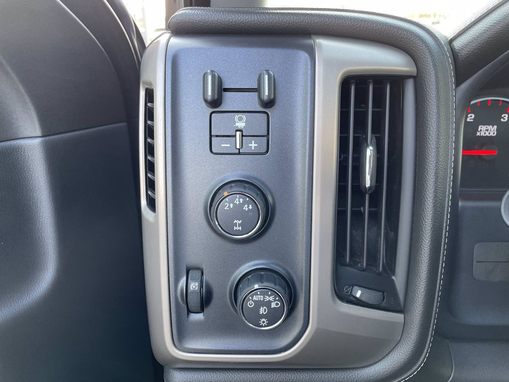 Black[Onyx Black] 2016 GMC Sierra 2500HD Left Rear Interior Door Panel Photo in Brandon MB